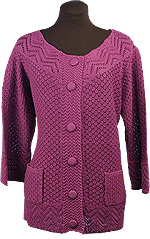 2c2432e4f8250 Womens 100% Cotton Cardigan Sweater with pockets