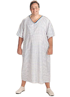 ALL OVERSIZED HOSPITAL GOWNS