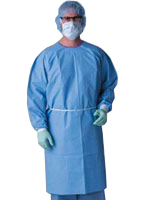 DISPOSABLE ISOLATION GOWNS - HIGH LEVEL PROTECTION