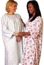 911f2272e7 Women s Adaptive Flannel Backwrap Gown (Cartoon Prints)