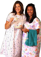 WOMEN'S HOSPITAL GOWNS - ADAPTIVE NIGHTGOWNS
