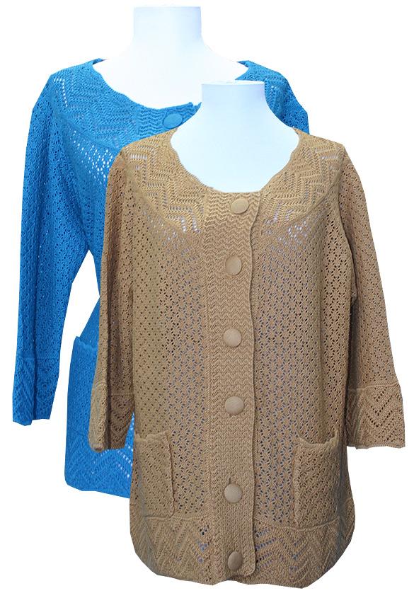 Women'S 100 Cotton Cardigan Sweaters 112
