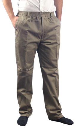 Elastic Waist Pants. Elastic waist pants are both comfortable and flattering regardless of size, age, or gender. Discover women's pants in a variety of styles, along with items for teens and for men. Look for comfortable merchandise that looks incredible with different clothing choices.
