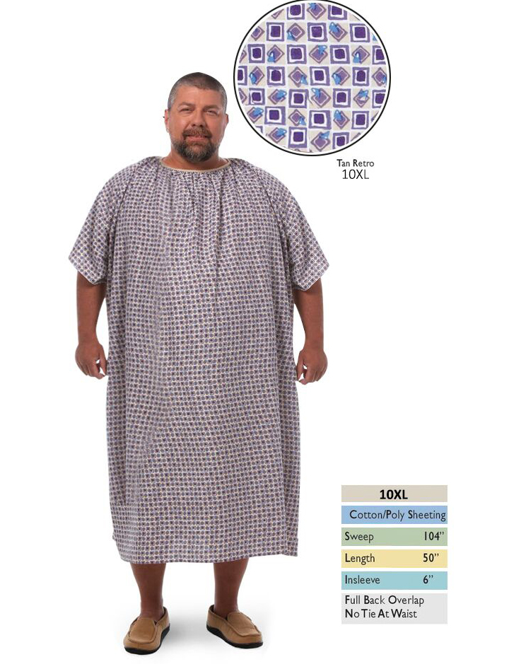 Wholesale Hospital Gowns – Plus Size Gowns