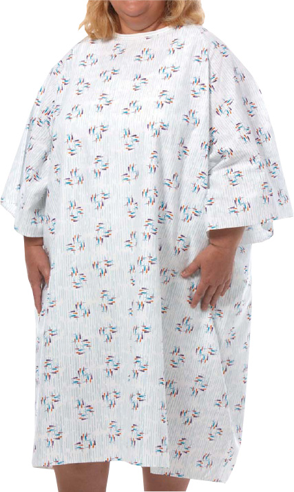 5x Plus Size Hospital Gown