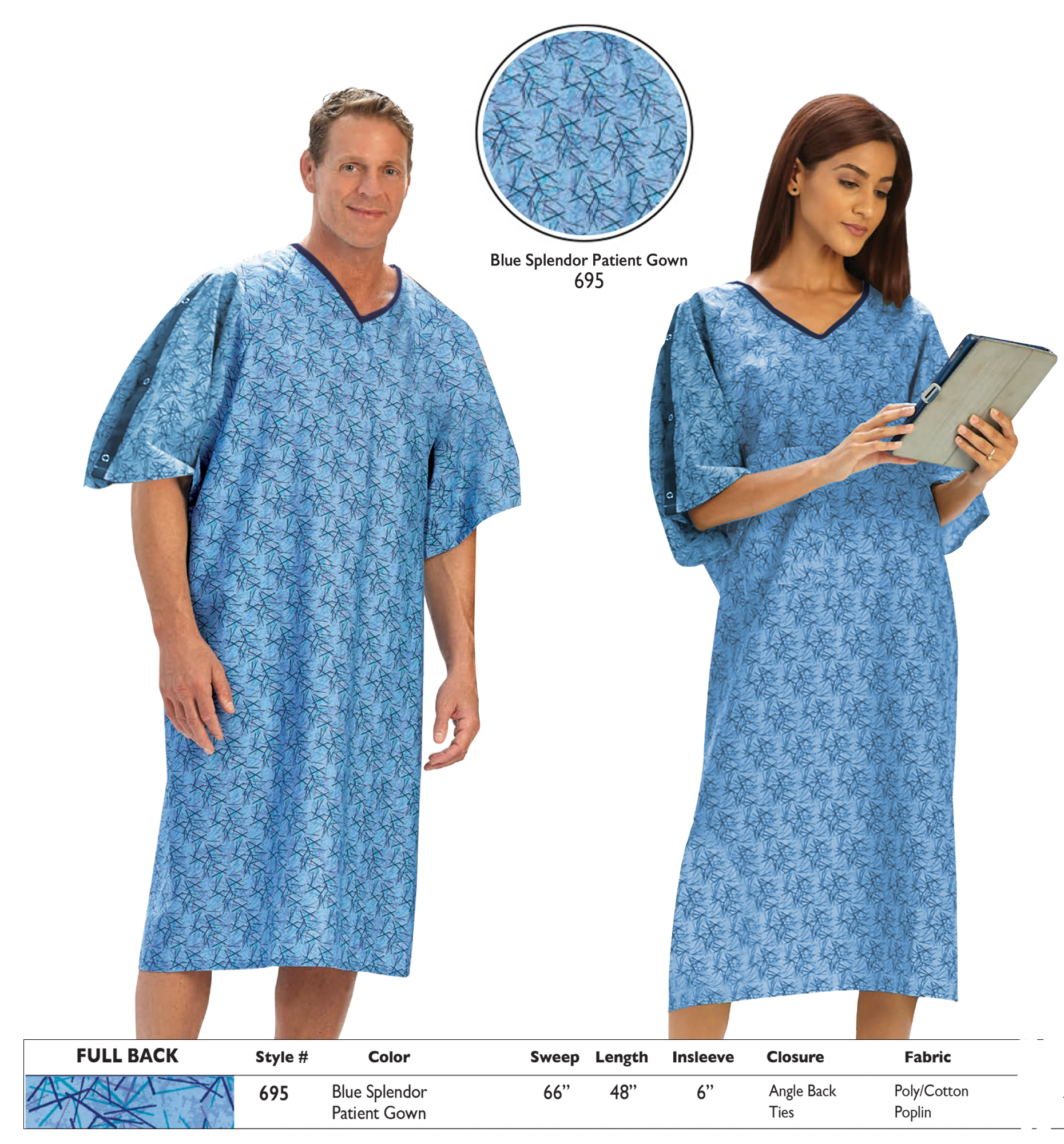 Personal Touch Unisex Hospital Gowns 1 DZ You Choose Size And Colors 8fa8e8999