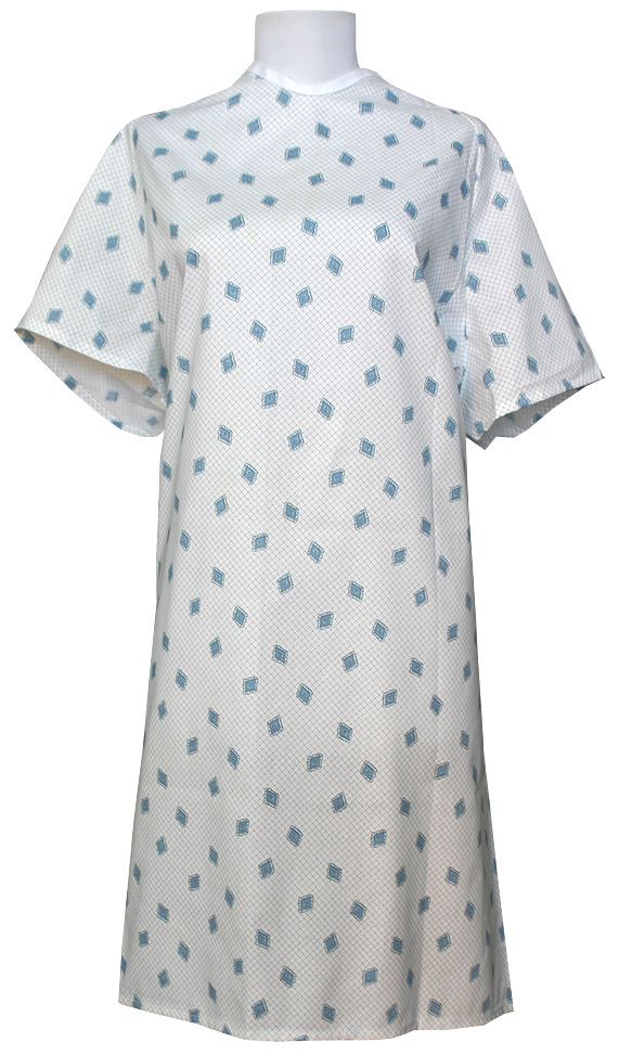 What a hospital gown means to