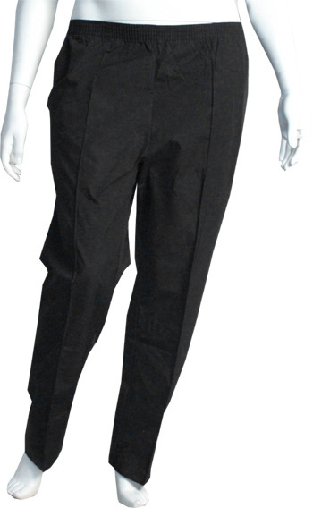 Elastic Waist Slacks - Pants with Drawstring